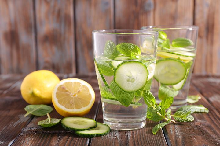 salatalikli limonlu su tarif