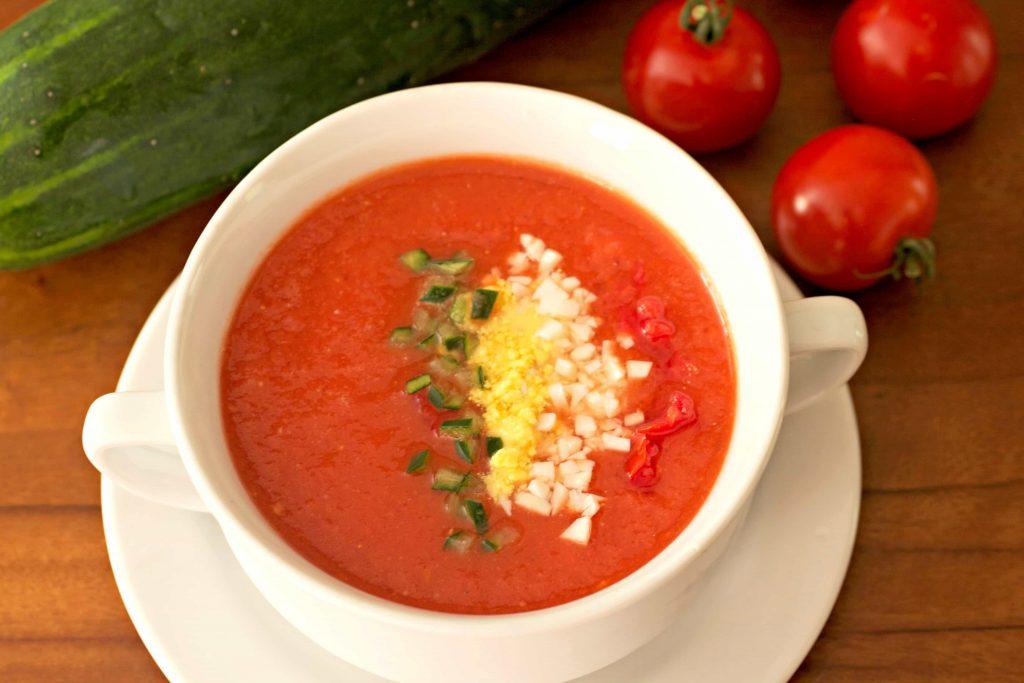diyet gazpacho çorbası