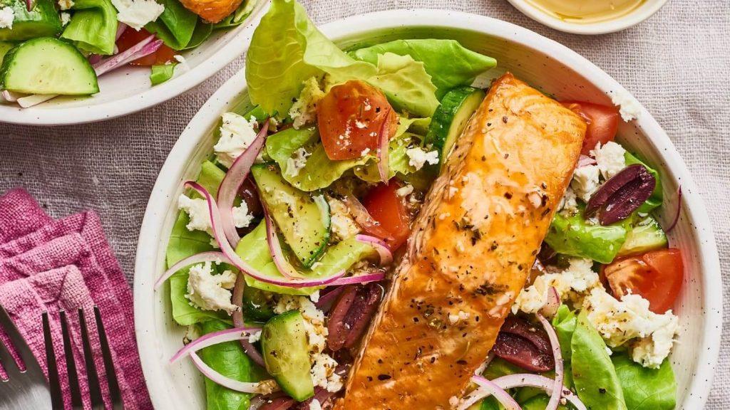 somon salatası