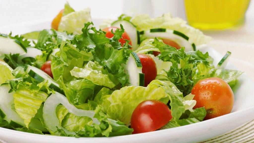 diyet marul salatası